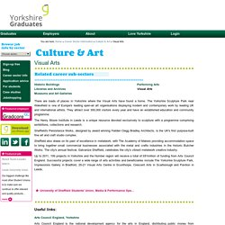 Visual Arts - Culture & Art - Yorkshire Employment and Training Information - Yorkshire Graduates