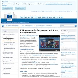 EU Programme for Employment and Social Innovation (EaSI) - Employment, Social Affairs & Inclusion