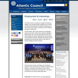 Employment & Internships