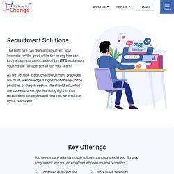 Best Employment Services in Canada - ItsTimeForChange