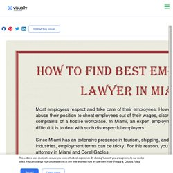 How to Find Best Employment Lawyer in Miami