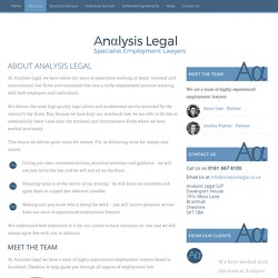 Employment Law Solicitors Cheshire