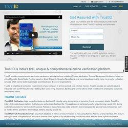 Swabhimaanya - AUA with UIDAI Launches TrustID App