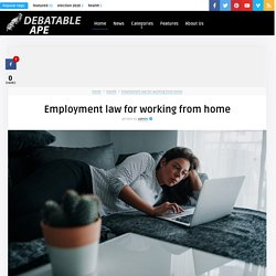 Employment law for working from home
