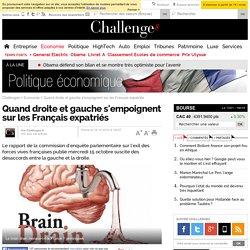 Quand droite et gauche s'empoignent sur les Français expatriés - 16 octobre 2014