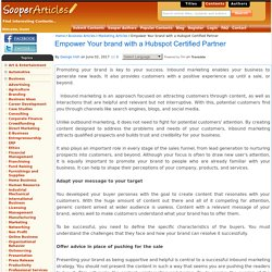 Empower Your brand with a Hubspot Certified Partner