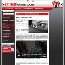 Empowering Battered Women