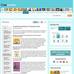 Empowering Books for Preschool Girls . Bookfinder . Education