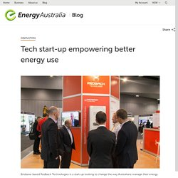 Tech start-up empowering better energy use