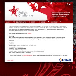 Follett Challenge - Empowering Innovation