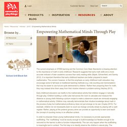 Empowering Mathematical Minds