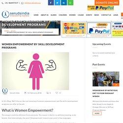 Women Empowerment By Skill Development Program: Charity for Woman