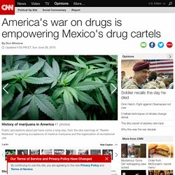 U.S. war on drugs empowers Mexico cartels (Opinion)