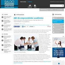 ABC do empreendedor académico - Saldo Positivo