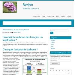 L'empreinte carbone des français, un sujet tabou ? – Ravijen