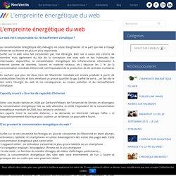 L'empreinte énergétique du web - NeoVectis