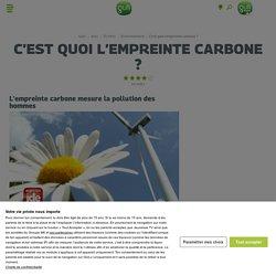 C'est quoi l'empreinte carbone ?