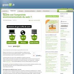 Quelle est l'empreinte environnementale du web