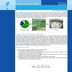water footprint and virtual water
