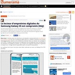 Le lecteur d'empreintes digitales du Samsung Galaxy S5 est compromis (MàJ)