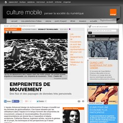 Empreintes de mouvement - point d'expert