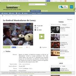 Empreintes landaises - Le festival Musicalarue de Luxey