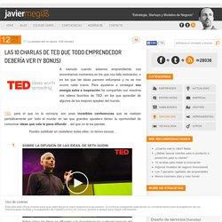 Las 10 charlas de TED que todo emprendedor debería ver (con Bonus)