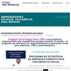 Emprendedores Sociales: 150 ejemplos para inspirar