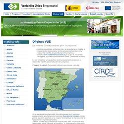 Oficinas VUE - Ventanilla Única Empresarial. Asesoramiento OnLine