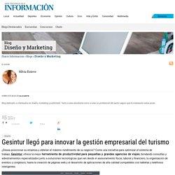 Gesintur llegó para innovar la gestión empresarial del turismo, Diseño y Marketing en Diario Informacion