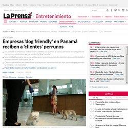 Empresas 'dog friendly' en Panamá reciben a 'clientes' perrunos