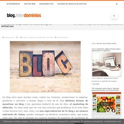 5 empresas de marketing de afiliación para ganar dinero con tu blog