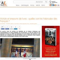 Achats et emprunts de livres : quelles sont les habitudes des Français ?