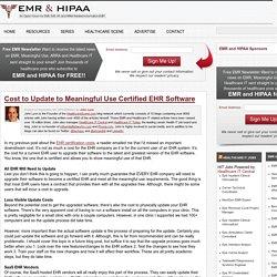 EMR Updates