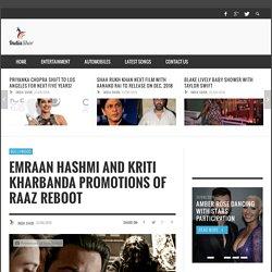 Emraan Hashmi And Kriti Kharbanda Promotions Of Raaz Reboot