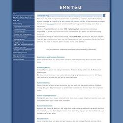 EMS Test - Vorbereitung
