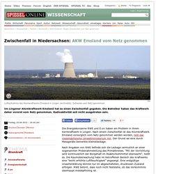 AKW Emsland: Wegen Zwischenfall vom Netz genommen