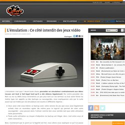 Culture Games - News, culture et encyclopédie des jeux vidéo