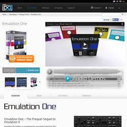 Emulation One - An 80's Virtual Instrument Library