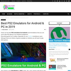 Best PS2 Emulators for Android & PC in 2019 - TechMint