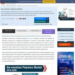 Bio-emulsion Polymers Market