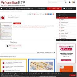 En cas d'accident Prévention BTP