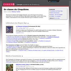 Livres numériques (français 5e)