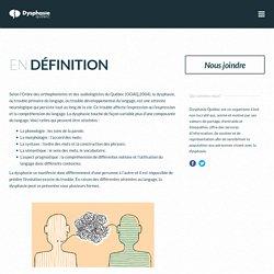 En définition – Dysphasie Québec