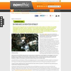 En finir avec la high-tech jetable? - Gestion des ressources naturelles - Environnement