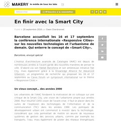 En finir avec la Smart City