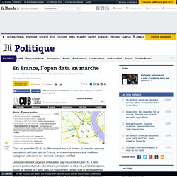 En France, l'open data en marche