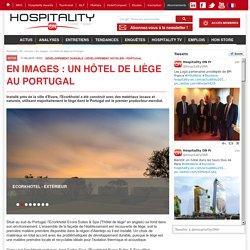 En images : un hôtel de liège au Portugal