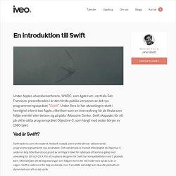 En introduktion till Swift