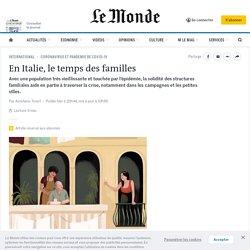 En Italie, le temps des familles
